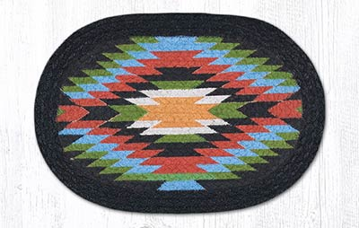 Native 1 Braided Tablemat - Oval (10 x 15 inch)