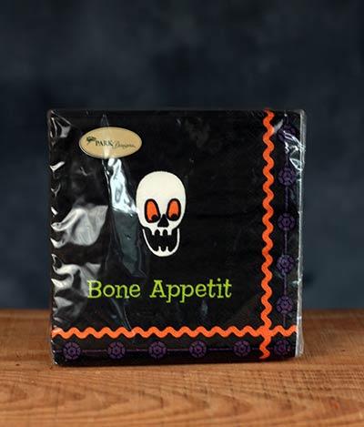 Bone Appetit Paper Beverage Napkins