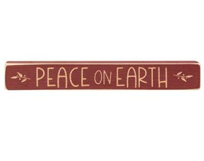 Peace On Earth Shelf Sitter