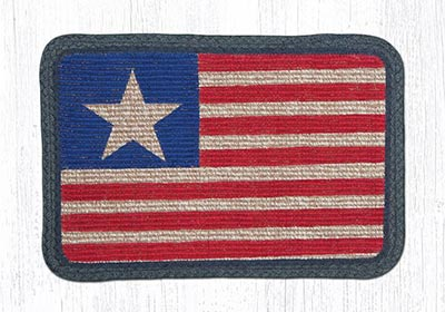 Original Flag Wicker Weave Placemat
