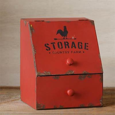 Country Farm Storage Bin