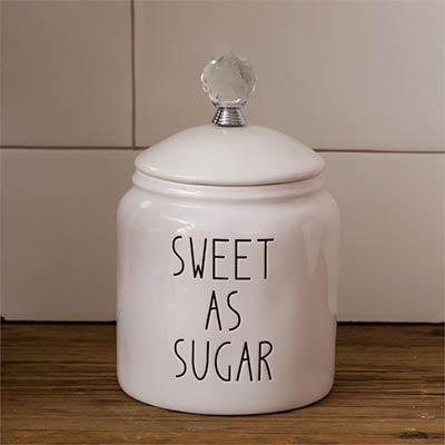 Simple Farmhouse Sugar Canister