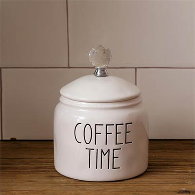 Simple Farmhouse Coffee Canister