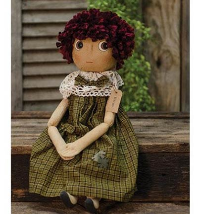 Becky Primitive Doll