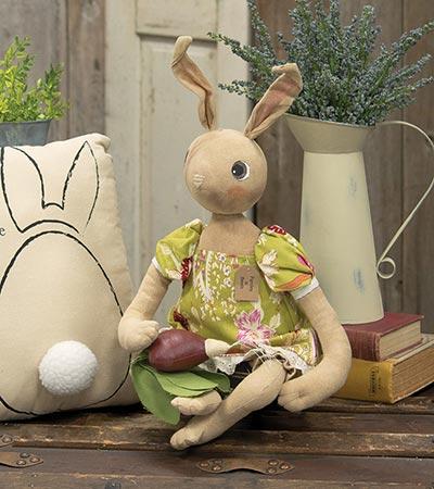 Primitive Bunny with Beet