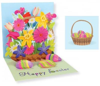 Spring Bouquet Pop-up Card