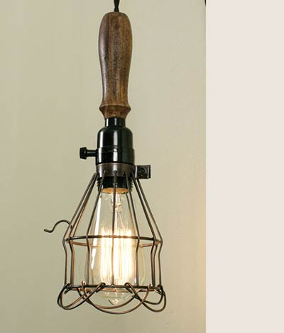 Reproduction Vintage Trouble Light By Ctw Home Collection