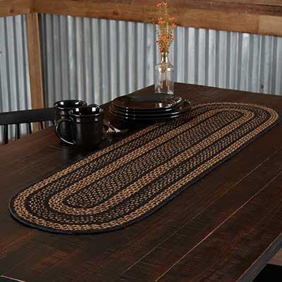 Farmhouse Braided 48 inch Table Runner
