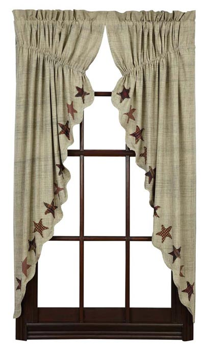 Abilene Star Prairie Curtain