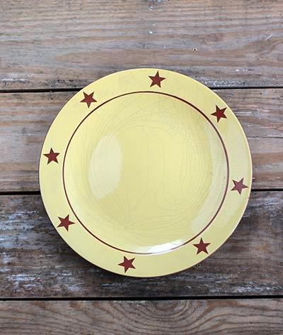 Redware Dinner Plate
