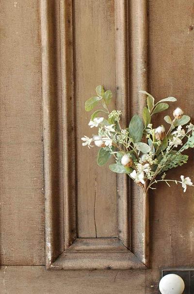 Spring Cotton & Floral Stem