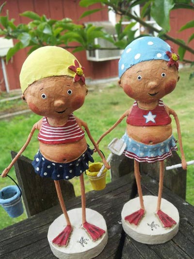 Bathing Beauties (Set of 2)