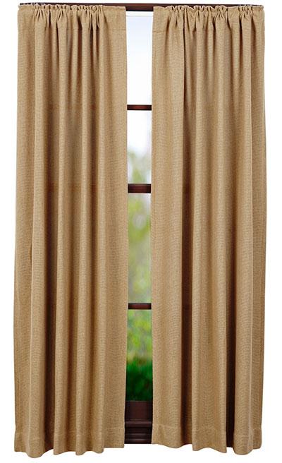 Burlap Natural Panels (63 inch)