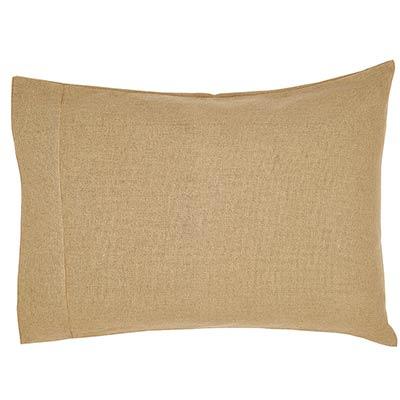 Burlap Natural Pillow Cases (Set of 2)