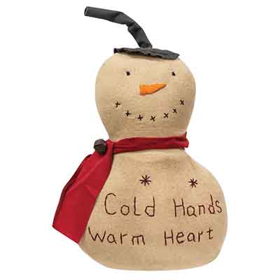 Cold Hands Warm Heart Snowman