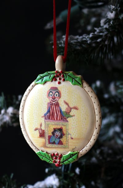 Jack in the Box Ornament