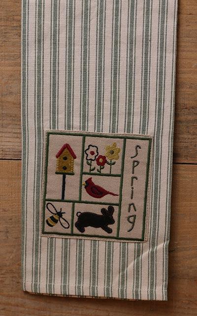 Spring Sampler Kitchen Towel