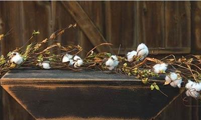Wild Cotton Garland