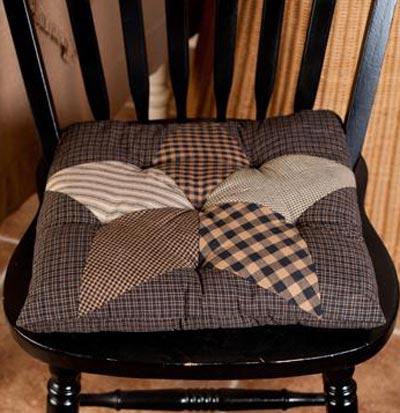 Farmhouse Star Chair Pad
