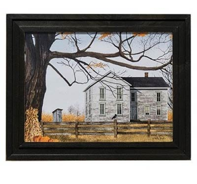 Harvest Time House Framed Print