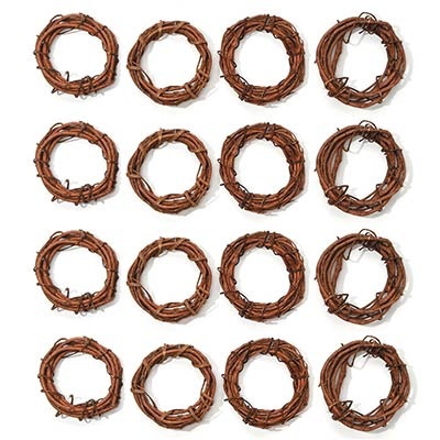Natural Grapevine Ring - 4 inch (Set of 2)