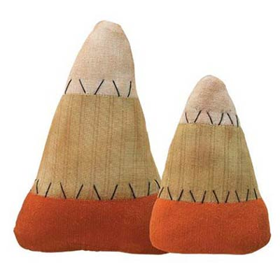 Stuffed Candy Corn (Set of 2)