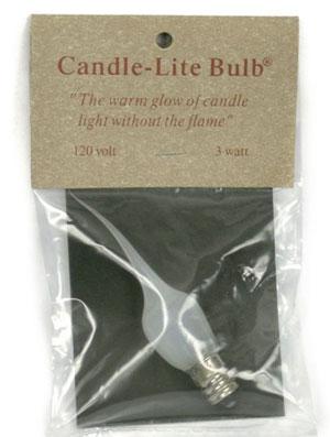 Candle Lite Bulbs [3 watt - Medium]