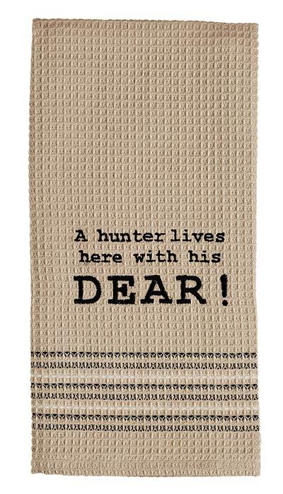Hunter and Dear Dishtowel