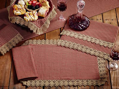 Ava Wine Check Placemat