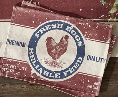 Farm Feed Placemat