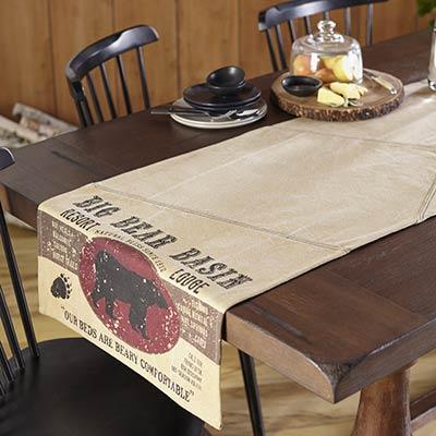 Big Bear Basin 72 inch Table Runner