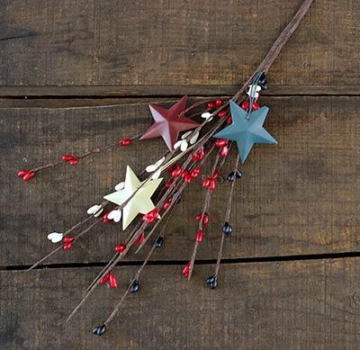 Americana Pip Berry Pick with Stars