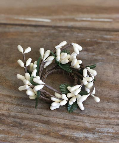 Ivory Mini Candle Ring