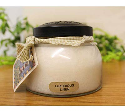 Luxurious Linen Keepers of the Light Jar Candle - Mama