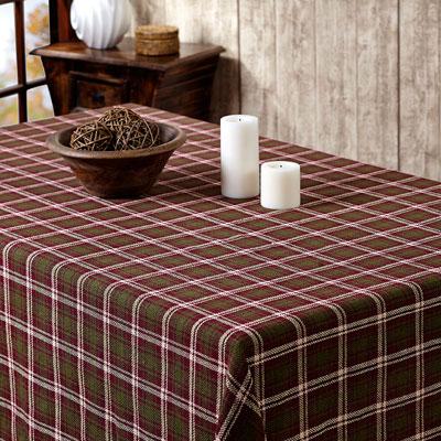 Jackson Burlap Tablecloth, 60 X 80 Inch