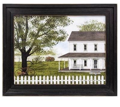 Green, Green Grass of Home Framed Print