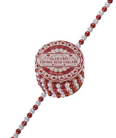 Valentine Mini Bead Garland