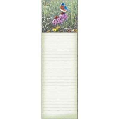 Bluebird in Prairie List Pad