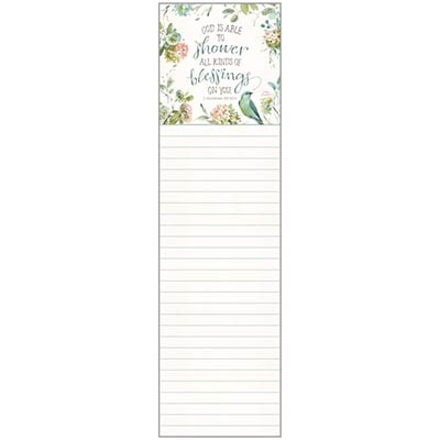 All Kinds of Blessings List Pad
