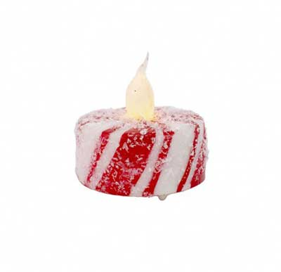Peppermint Battery Tealight Candle