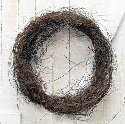 Angel Hair Vine Ring - 14 inch