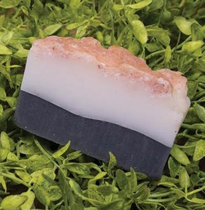 Activated Charcoal and Sea Salt Soap