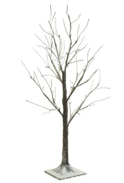 Lighted Snowy Tree, 36 in
