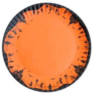Melamine Halloween Platter