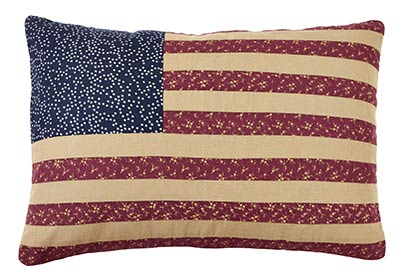Old Glory Flag Pillow Cover
