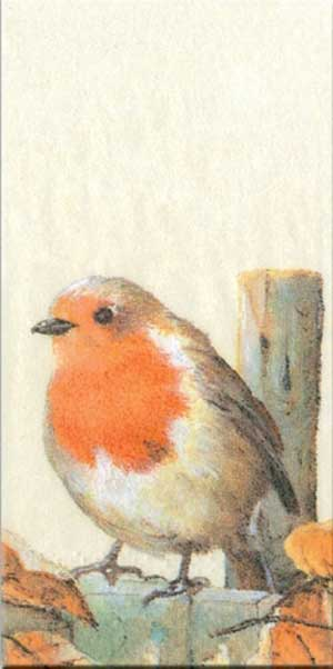 Mr. Red Breast Pocket Tissues