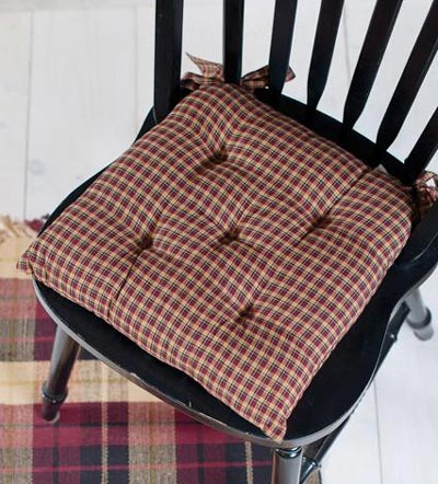 Patriotic Patch Chair Pad