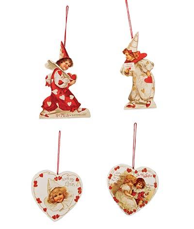Little Sweetheart Ornaments (Set of 4)