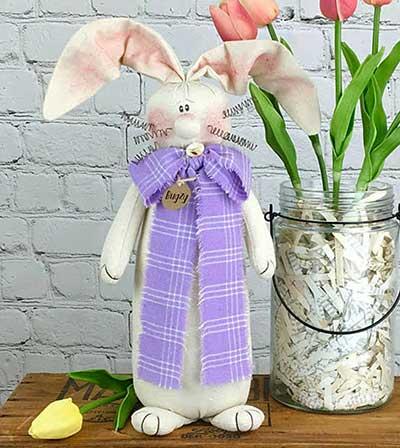 Bugzy Primitive Bunny Doll