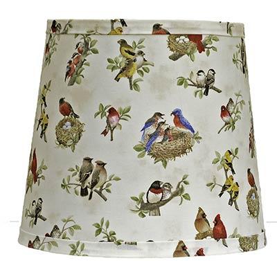 Beautiful Birds Custom Lamp Shade (Choose Size)